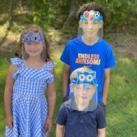 Protector Facial Lentes Niños 100 Unid
